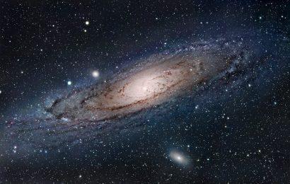 Падая в галактику