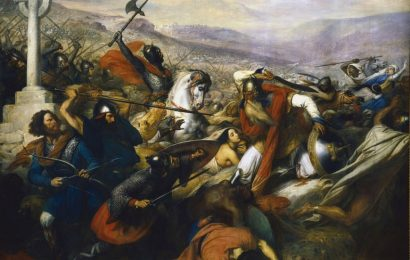 732 год: битва при Пуатье